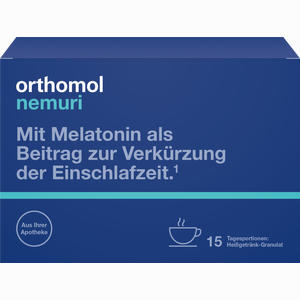 Abbildung von Orthomol Nemuri Granulat 15 Stück