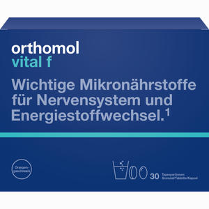 Abbildung von Orthomol Vital F Granulat/kapseln 30beutel Kombipackung 1 Stück