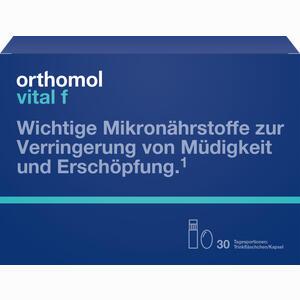Abbildung von Orthomol Vital F Trinkfläschchen Trinkampullen 30 Stück