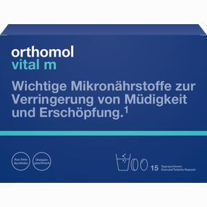 Abbildung von Orthomol Vital M 15 Granulat/tablette/kapseln Kombipackung  1 Stück