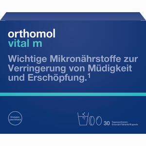 Abbildung von Orthomol Vital M 30 Granulat/tablette/kapseln Kombipackung 1 Stück
