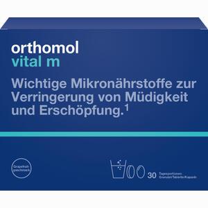 Abbildung von Orthomol Vital M Granulat Grapefruit  30 Stück