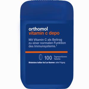 Abbildung von Orthomol Vitamin C Depo Tabletten 100 Stück