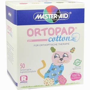 Abbildung von Ortopad Cotton Girls Regular Okklusionspflaster  50 Stück