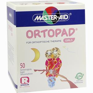 Abbildung von Ortopad for Girls Regular Augenpflaster  50 Stück