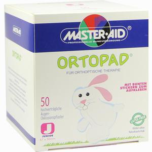 Abbildung von Ortopad Junior Okklussionspflaster Master Aid  50 Stück
