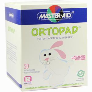Abbildung von Ortopad Regular Okklussionspflaster Master Aid  50 Stück
