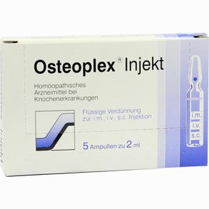 Abbildung von Osteoplex Injekt Ampullen 5 Stück