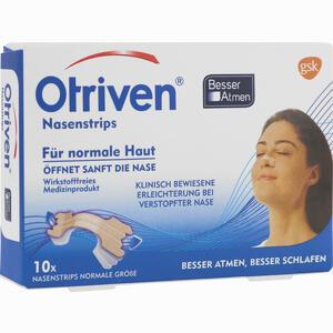 Abbildung von Otriven Besser Atmen Strips Beige Normal Pflaster 10 Stück