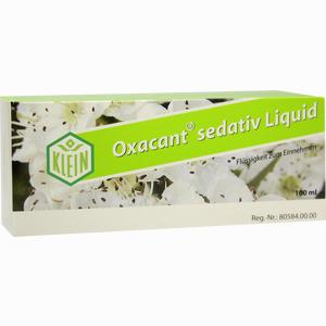 Abbildung von Oxacant Sedativ Liquid Tropfen 100 ml