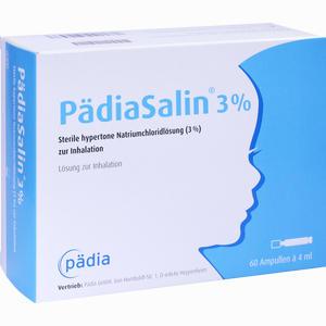 Abbildung von Pädiasalin 3 % Inhalationsampullen 60 Stück