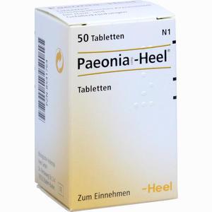 Abbildung von Paeonia Comp.- Heel Tabletten 50 Stück