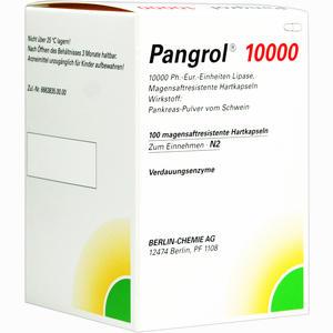 Abbildung von Pangrol 10000 Kapseln 100 Stück