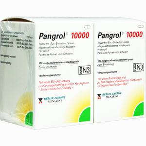 Abbildung von Pangrol 10000 Kapseln 200 Stück
