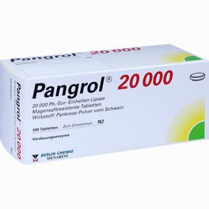 Abbildung von Pangrol 20000 Filmtabletten 100 Stück