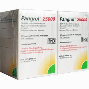 Abbildung von Pangrol 25000 Kapseln 200 Stück