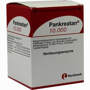 Abbildung von Pankreatan 10000 Kapseln 100 Stück