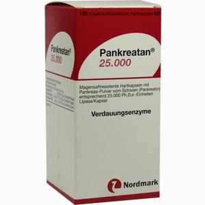 Abbildung von Pankreatan 25000 Kapseln 100 Stück