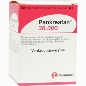 Abbildung von Pankreatan 36000 Kapseln 50 Stück