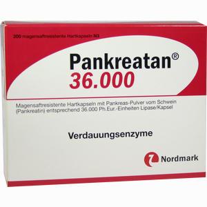 Abbildung von Pankreatan 36000 Kapseln 200 Stück