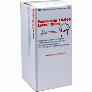Abbildung von Pankreatin 20000 Laves Mikro Kapseln 100 Stück