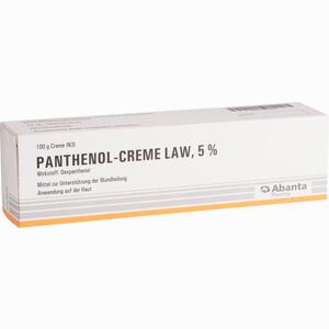 Abbildung von Panthenol Creme Law  100 g