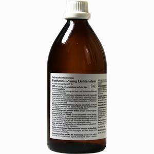 Abbildung von Panthenol Loesung Lichtenstein 5% 500 ml