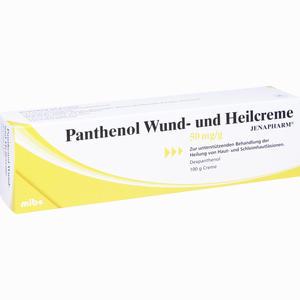 Abbildung von Panthenol Wund- und Heilcreme Jenapharm  100 g