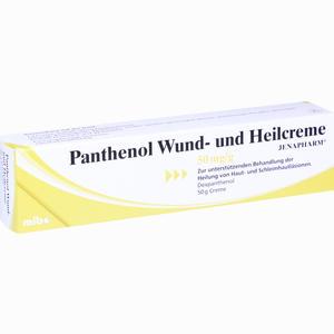 Abbildung von Panthenol Wund- und Heilcreme Jenapharm  50 g