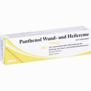 Abbildung von Panthenol Wund- und Heilcreme Jenapharm  20 g