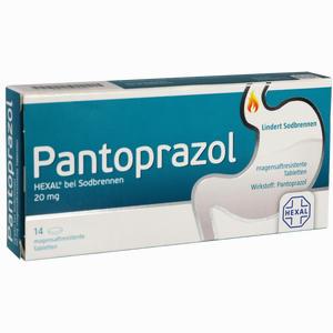 Abbildung von Pantoprazol Hexal bei Sodbrennen Tabletten 14 Stück