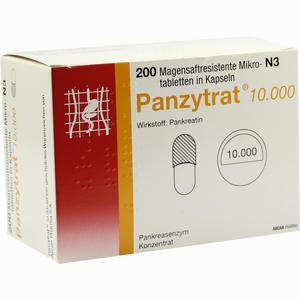 Abbildung von Panzytrat 10000 Kapseln 200 Stück