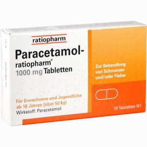Abbildung von Paracetamol- Ratiopharm 1000 Mg Tabletten  10 Stück