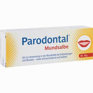 Abbildung von Parodontal Mundsalbe  20 g