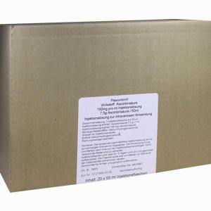 Abbildung von Pascorbin Injektionslösung 20 x 50 ml