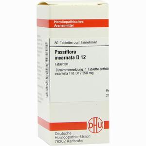 Abbildung von Passiflora Incarnata D12 Tabletten 80 Stück