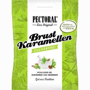Abbildung von Pectoral Brustkaramellen zuckerfrei Beutel Bonbon 60 g