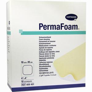 Abbildung von Perma Foam Schaumverband 10x10cm 10 Stück