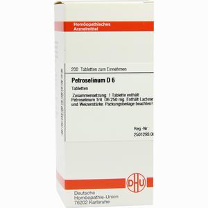 Abbildung von Petroselinum D6 Tabletten 200 Stück
