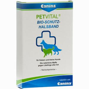 Abbildung von Petvital Bio- Schutz- Halsband Klein 35cm Vet.  1 Stück