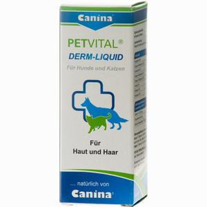 Abbildung von Petvital Derm- Liquid Vet Tropfen  25 ml