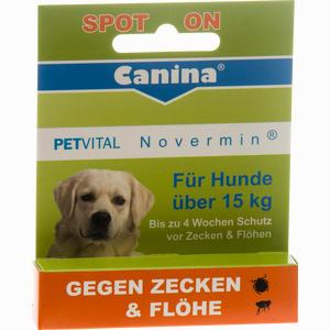 Abbildung von Petvital Novermin für Hunde über 15kg Vet. Fluid 4 ml