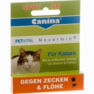 Abbildung von Petvital Novermin für Katzen Vet Fluid 2 ml