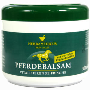 Abbildung von Pferdebalsam Herbamedicus  500 ml