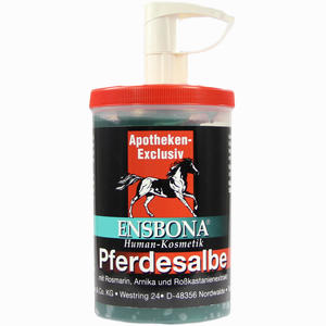 Abbildung von Pferdesalbe Ensbona mit Spender 1000 ml