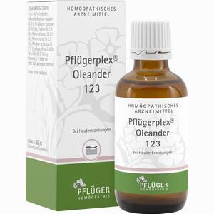 Abbildung von Pflügerplex Oleander 123 Tropfen 50 ml