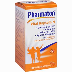 Abbildung von Pharmaton Vital Kapseln N  100 Stück