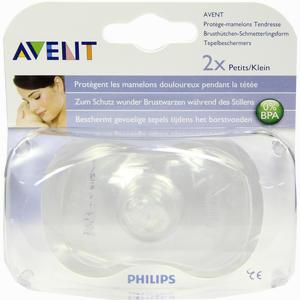 Abbildung von Philips Avent Brusthütchen - Klein 2 Stück