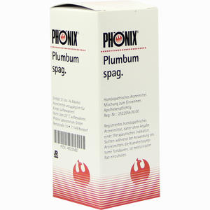 Abbildung von Phönix Plumbum Spag. Tropfen 50 ml