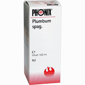Abbildung von Phönix Plumbum Spag. Tropfen 100 ml